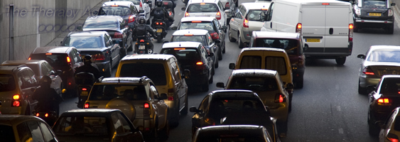 Is getting stuck in traffic a good, or a bad thing?